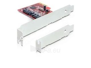 Adapteris Delock PCI Express Card > 2 x internal SATA III 6Gb/s Paveikslėlis 1 iš 2 250255081591