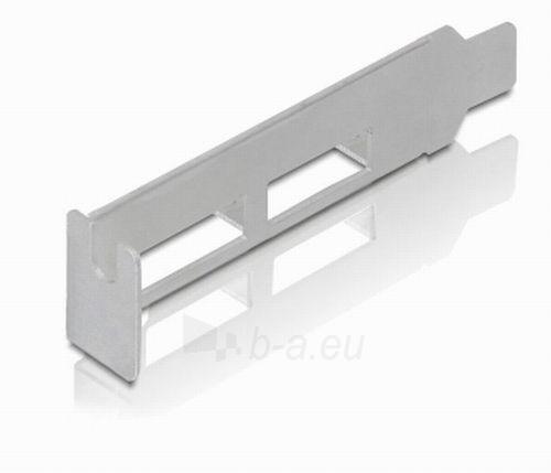 Adapteris Delock plokštė pci express -> 2x USB 3.0 + sliaustas LOW PROFILE Paveikslėlis 3 iš 4 250255081595