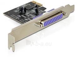 Adapteris Delock plokštė pci express -> lpt (Db25) Paveikslėlis 1 iš 3 250255081597