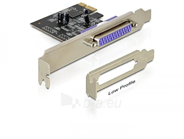 Adapteris Delock plokštė pci express -> lpt (Db25) Paveikslėlis 2 iš 3 250255081597