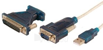 Adapteris LogiLink USB2.0 --> Serial 9-pin 25 su 1.2 m laidu, WINDOWS 8 Paveikslėlis 1 iš 1 250255081510