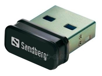 Adapteris Sandberg Micro, USB, WiFi Paveikslėlis 1 iš 2 250257100253