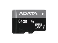 ADATA 64GB micro SDXC UHS-I Class10 Paveikslėlis 1 iš 1 250255121878