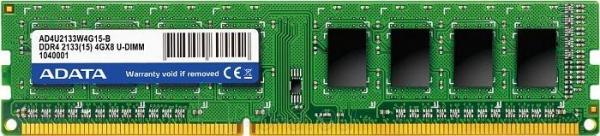 ADATA DDR4 8GB U-DIMM 2133MHz CL15 Paveikslėlis 1 iš 1 310820015695