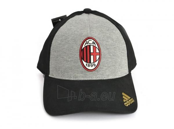 Adidas A.C. Milan kepurėlė su snapeliu (Juoda) Paveikslėlis 1 iš 4 310820016452