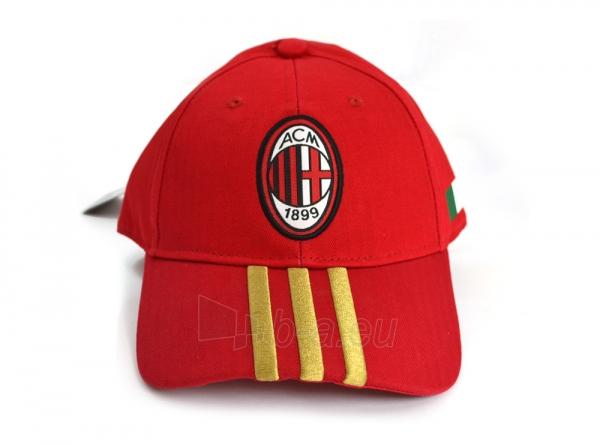 Adidas A.C. Milan kepurėlė su snapeliu (Raudona) Paveikslėlis 1 iš 4 310820016451