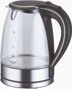 ADLER AD1225 - 1,7l electric kettle stikliniu korpusu Paveikslėlis 1 iš 1 250123920586