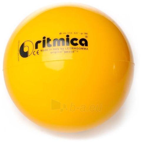 Aerobikos kamuolys Original Pezzi® Ritmica 19 cm 420 g Geltonas Paveikslėlis 1 iš 1 310820221670