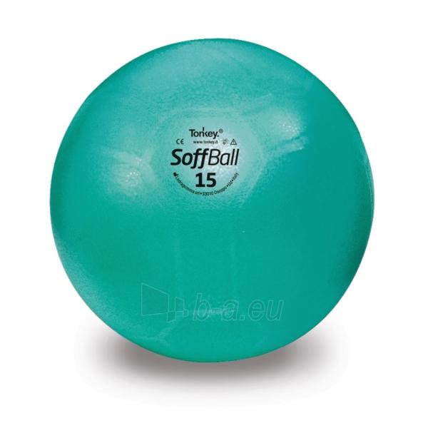 Aerobikos kamuolys PEZZI Softball MAXAFE 15 cm. Green Paveikslėlis 1 iš 1 310820205569