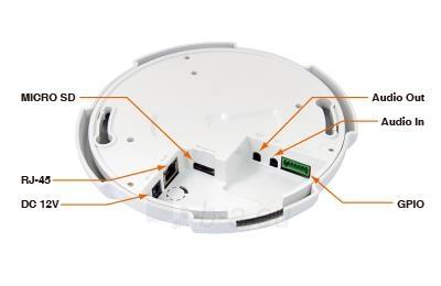 AirLive 2MP Fisheye Indoor PoE Dome Camera Paveikslėlis 3 iš 8 310820014321