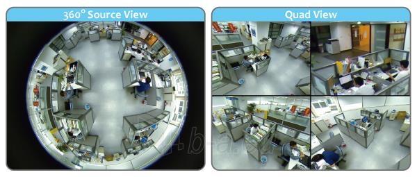 AirLive 2MP Fisheye Indoor PoE Dome Camera Paveikslėlis 5 iš 8 310820014321