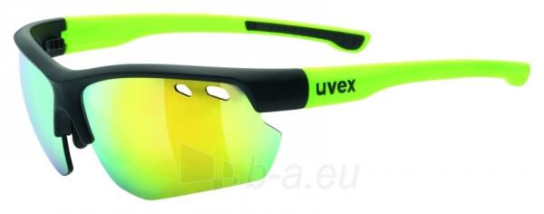 Akiniai Uvex Sportstyle 115 black mat yellow Paveikslėlis 1 iš 1 310820229543