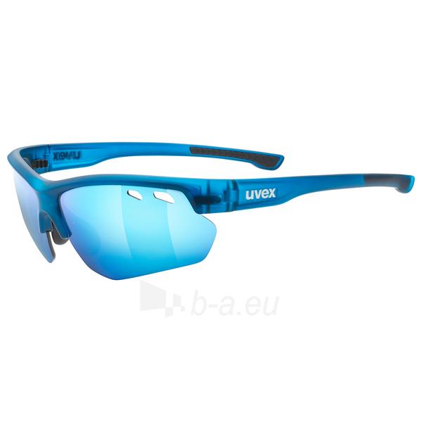 Brilles Uvex Sportstyle 115 blue mat Paveikslėlis 1 iš 1 310820229554