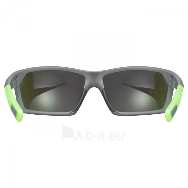 Brilles Uvex Sportstyle 225 grey green mat / mirror green Paveikslėlis 3 iš 5 310820229564