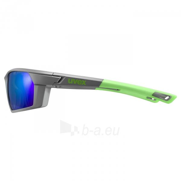 Brilles Uvex Sportstyle 225 grey green mat / mirror green Paveikslėlis 4 iš 5 310820229564