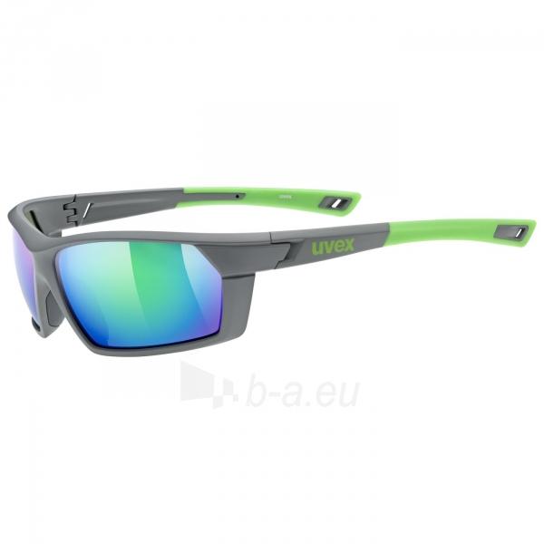 Brilles Uvex Sportstyle 225 grey green mat / mirror green Paveikslėlis 5 iš 5 310820229564