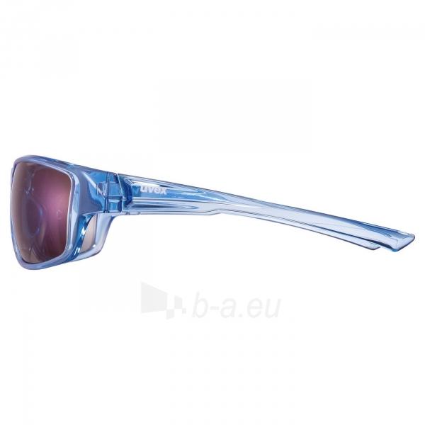 Brilles Uvex Sportstyle 230 clearl blue / mirror blue Paveikslėlis 4 iš 5 310820230389