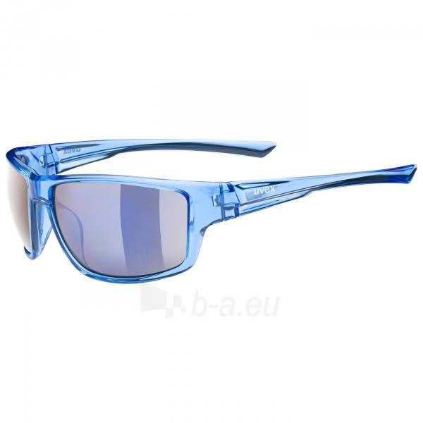 Brilles Uvex Sportstyle 230 clearl blue / mirror blue Paveikslėlis 5 iš 5 310820230389