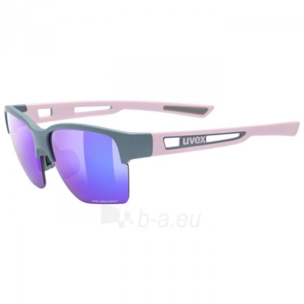 Brilles Uvex Sportstyle 805 CV grey rose mat / plasma Paveikslėlis 5 iš 5 310820230369
