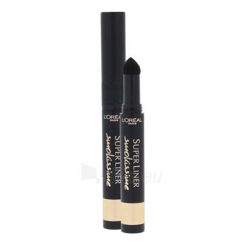 Akių kontūras L´Oreal Paris Super Liner Smokissime Cosmetic 1g Black Smoke Paveikslėlis 1 iš 1 310820011281