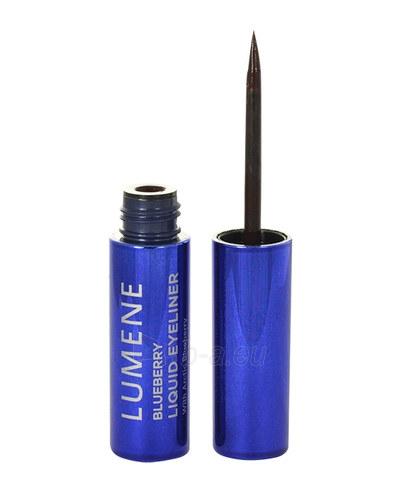 Akių kontūras Lumene Blueberry Liquid Eyeliner Cosmetic 2,8ml Nr. 1 Rich Black Paveikslėlis 1 iš 1 310820012698