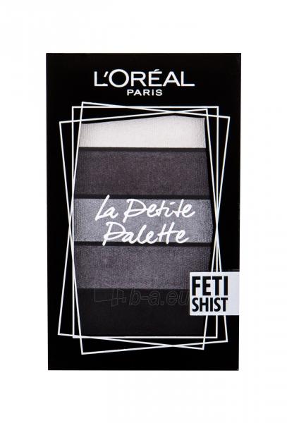 Akių šešėliai L´Oréal Paris La Petite Palette Fetishist Eye Shadow 4g Paveikslėlis 1 iš 1 310820184884