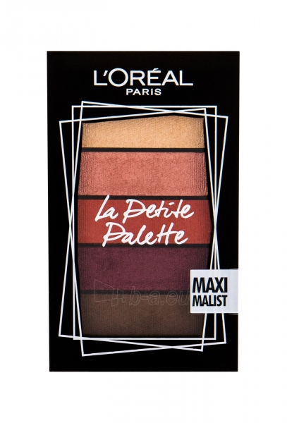 Akių šešėliai L´Oréal Paris La Petite Palette Maximalist Eye Shadow 4g Paveikslėlis 1 iš 1 310820184895