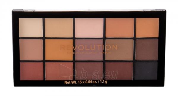 Akių šešėliai Makeup Revolution London Re-loaded Basic Mattes 16,5g Paveikslėlis 1 iš 1 310820202013