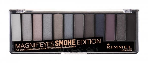 Akių šešėliai Rimmel London Magnif Eyes 003 Smoke Edition Contouring Palette Eye Shadow 14,16g Paveikslėlis 1 iš 1 310820169374