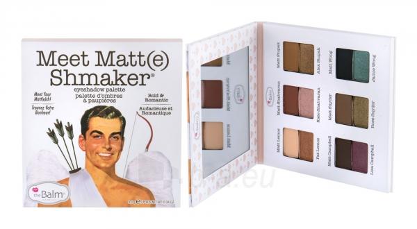 Akių šešėliai TheBalm Meet Matt(e) Shmake 9,6g Paveikslėlis 1 iš 1 310820215033