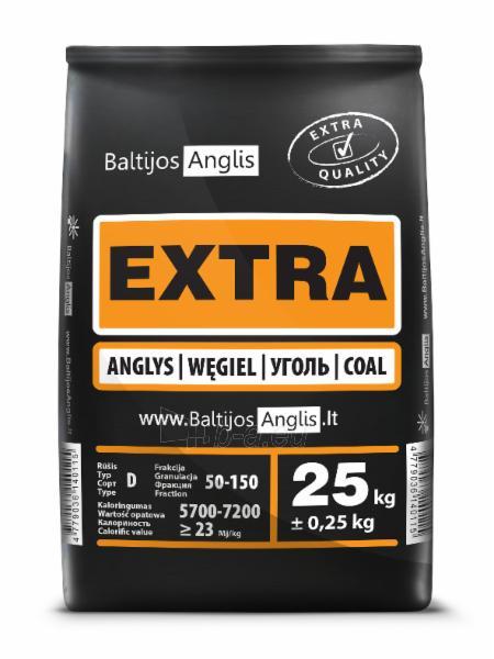 Akmens anglys EXTRA 50-150mm, paletė (1000kg) Paveikslėlis 1 iš 2 271340000023