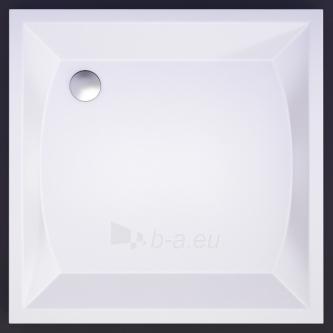 Akmens masės kvadratinis dušo padėklas VISPOOL K-90 Paveikslėlis 1 iš 2 270780000001