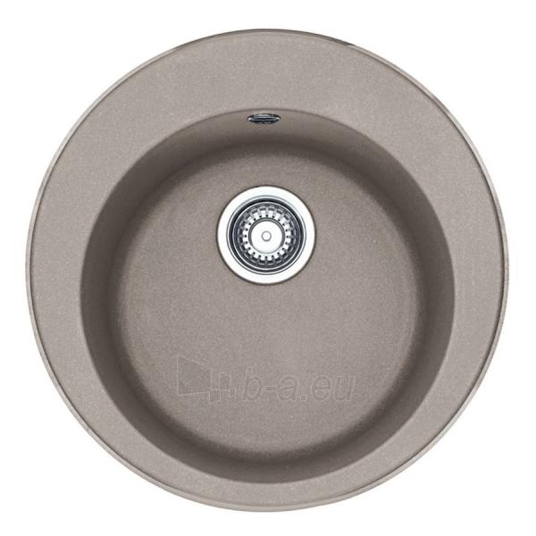 Akmens masės plautuvė FRANKE ROG 610-41 Kašmyras, ventilis ekscentrinis Paveikslėlis 1 iš 8 270712000911