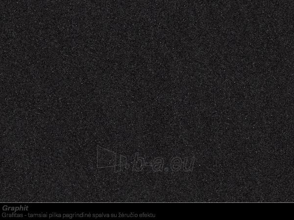 Akmens masės plautuvė FRANKE ROG 611 Grafitas, ventilis ekscentrinis Paveikslėlis 6 iš 6 270712000390