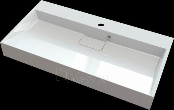 Akmens masės praustuvas ANTLIA (900x460 mm) Paveikslėlis 1 iš 2 310820043027