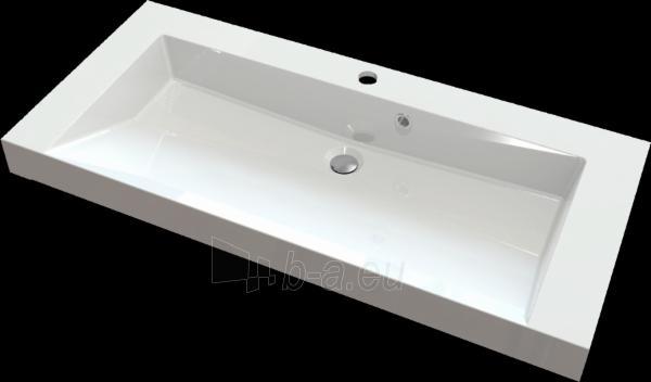 Akmens masės praustuvas FRIULI (1000x460 mm) Paveikslėlis 1 iš 2 310820043750