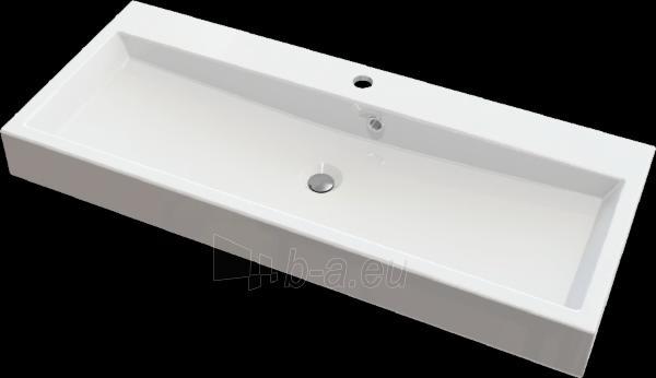 Akmens masės praustuvas LUPUS (700x420 mm) Paveikslėlis 1 iš 2 310820043015