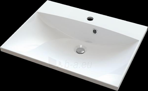 Akmens masės praustuvas MENSA (600x460 mm) Paveikslėlis 1 iš 2 310820043755