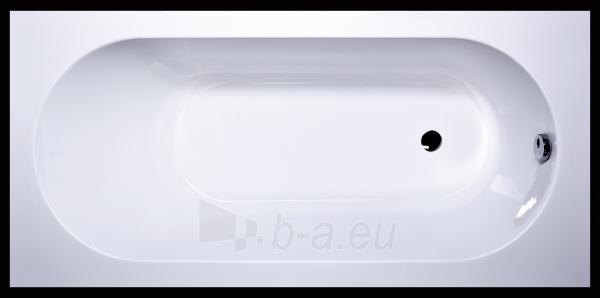 Akmens masės vonia Libero 1800x800 mm, balta Paveikslėlis 1 iš 3 310820163452