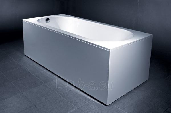 Akmens masės vonia Libero 1800x800 mm, balta Paveikslėlis 3 iš 3 310820163452