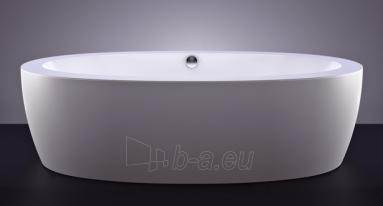 Akmens masės vonia VISPOOL FESTA 2040x1100 balta su apdailomis Paveikslėlis 2 iš 8 270716000555