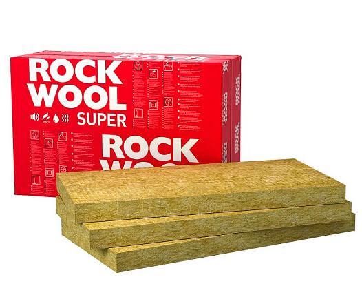 Stone wool insulation Superrock 150x565x1000 Paveikslėlis 2 iš 2 237210300026
