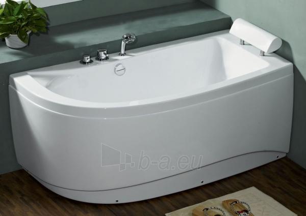 Akrilinė vonia B1680 dešininė be masažų (simple) 160cm Paveikslėlis 1 iš 2 270716000577