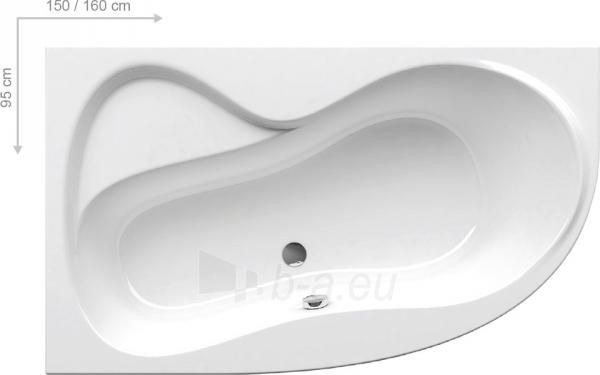 Akrilinė vonia ROSA 95,150x95 cm, Paveikslėlis 1 iš 3 310820163451