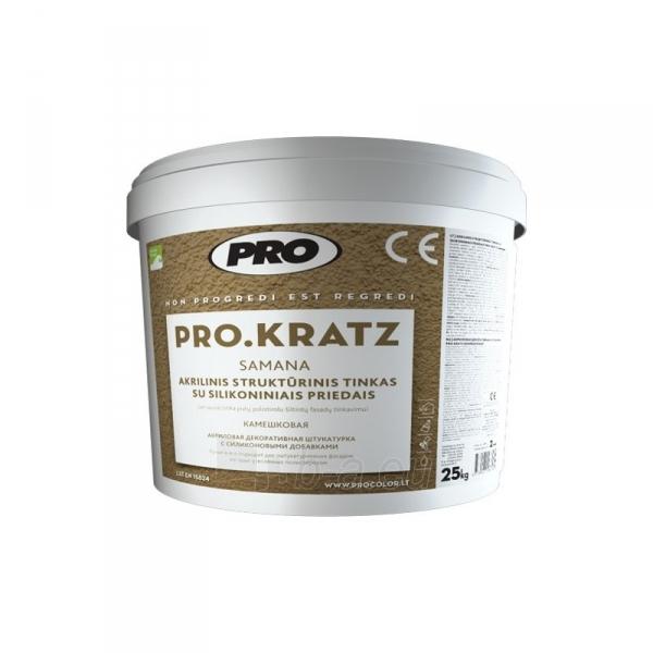 Acrylic plaster, PRO KRATZ samana Paveikslėlis 1 iš 1 236760100377