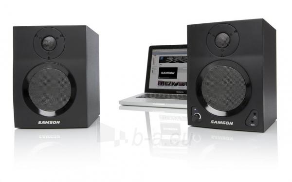 Aktyvūs garsiakalbiai su Bluetooth SAMSON MediaOne BT4 | 4 | 2 x 40 Wat Paveikslėlis 1 iš 6 250214000763