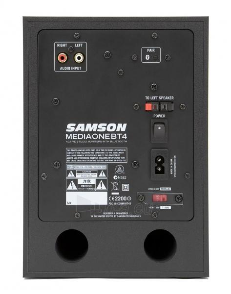Aktyvūs garsiakalbiai su Bluetooth SAMSON MediaOne BT4 | 4 | 2 x 40 Wat Paveikslėlis 3 iš 6 250214000763