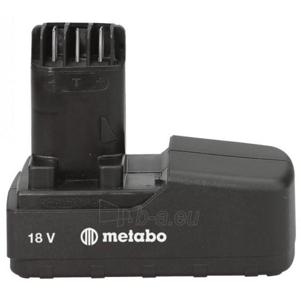 METABO 12V 2,0 Ah Paveikslėlis 1 iš 1 300436000086