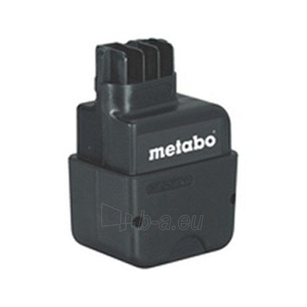 METABO 9,6V 1.7Ah Nicd Paveikslėlis 1 iš 1 300436000104