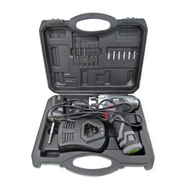 Cordless drill Screwdriver BASS BP-5310 Paveikslėlis 1 iš 7 300421000087